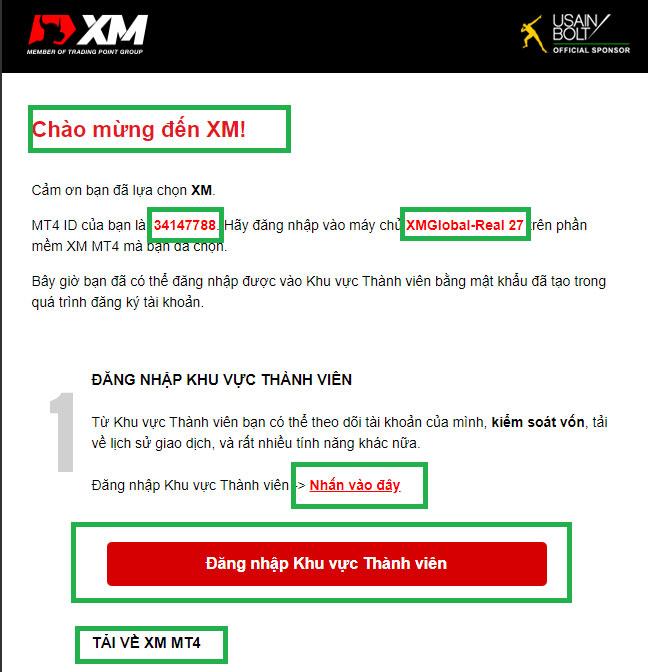 mở tài khoản giao dịch xm forex chi tiết