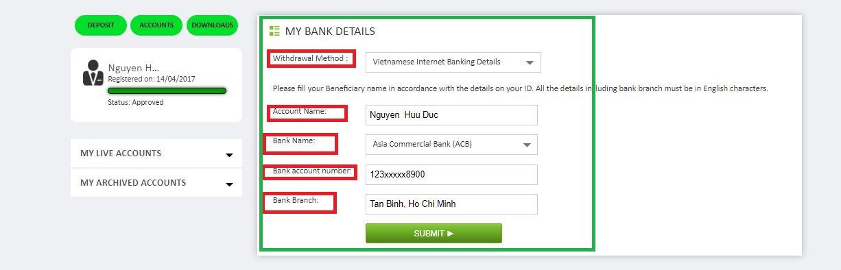 Rút tiền ICMarkets qua ngân hàng nội địa (2)