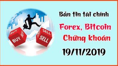 Photo of Bản tin tài chính Forex, Chứng khoán, Bitcoin, Gold 19/11/19