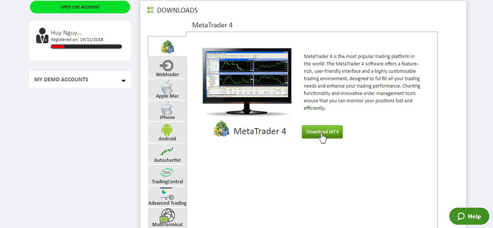 Download MT4
