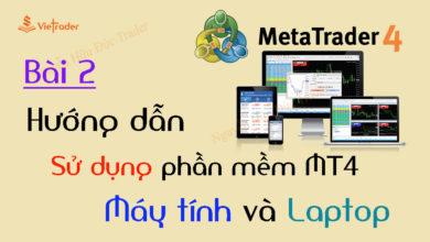 Photo of Hướng dẫn sử dụng phần mềm MT4 trên Máy tính và Laptop chi tiết (Bài 2)