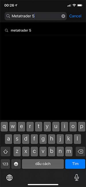Hướng dẫn cài đặt MT5 trên Iphone (1)