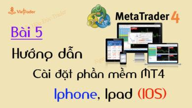 Photo of Hướng dẫn cài đặt phần mềm MT4 cho điện thoại Iphone, Ipad (Bài 5)