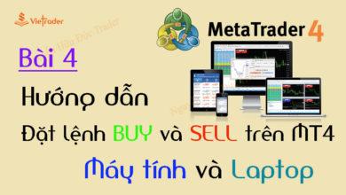 Photo of Hướng dẫn đặt lệnh Mua và Bán trên phần mềm MT4 đơn giản (Bài 4)