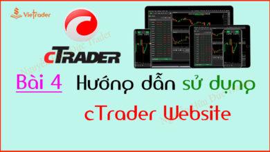 Photo of Hướng dẫn sử dụng cTrader trên nền tảng Website (Bài 4)