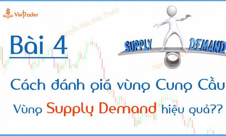Cách đánh giá vùng Cung Cầu (Supply Demand) hoạt động hiệu quả?
