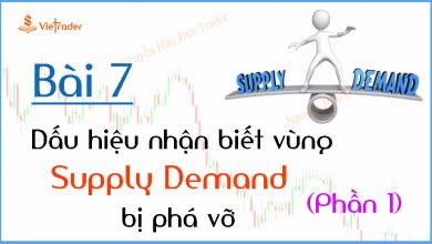 Photo of Dấu hiệu nhận biết vùng cung cầu (Supply Demand) bị phá vỡ – Phần 1 (Bài 7)
