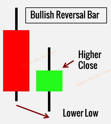 Nến đảo chiều Reversal Bar