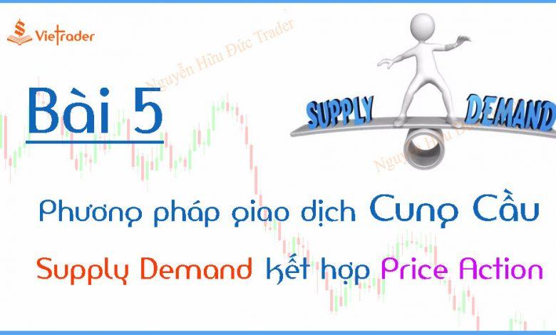 Phương pháp giao dịch cung cầu (Supply Demand) kết hợp Price Action