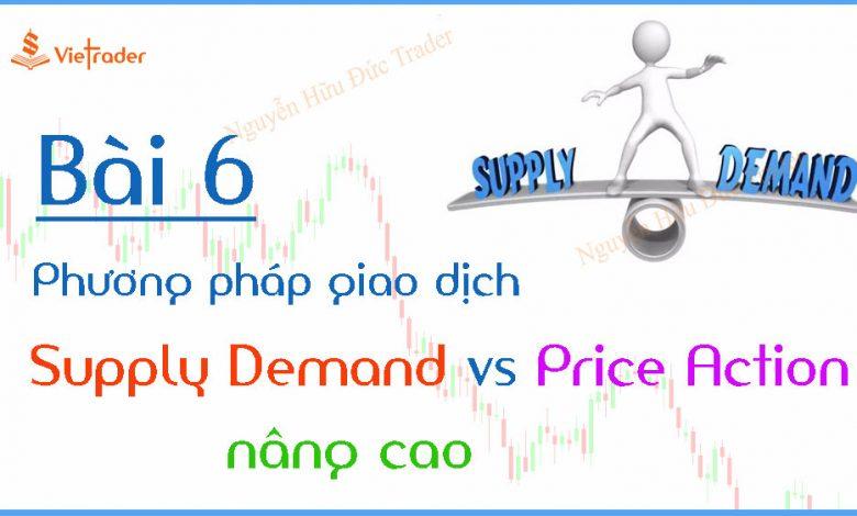 Phương pháp giao dịch theo cung cầu (Supply Demand) kết hợp Price Action nâng cao