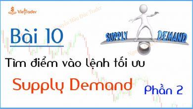 Photo of Hướng dẫn tìm điểm vào lệnh tối ưu tại vùng cung cầu (Supply Demand) – Phần 2 (Bài 10)