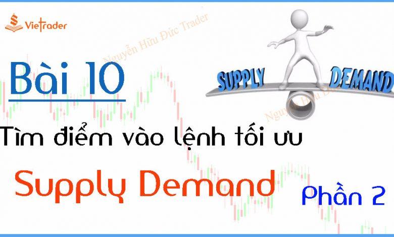 Tìm điểm vào lệnh tối ưu tại vùng cung cầu (Supply Demand) - Phần 2