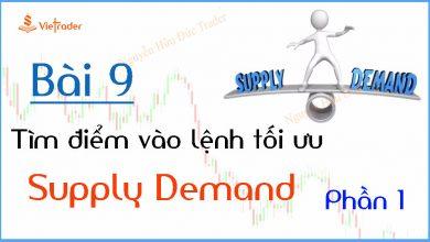 Photo of Hướng dẫn tìm điểm vào lệnh tối ưu tại vùng cung cầu (Supply Demand) – Phần 1 (Bài 9)