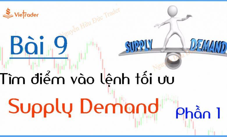 Tìm điểm vào lệnh tại vùng cung cầu (Supply Demand) - Phần 1