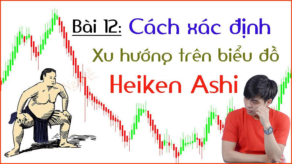 Cách xác định xu hướng Heiken Ashi (Bài 12)