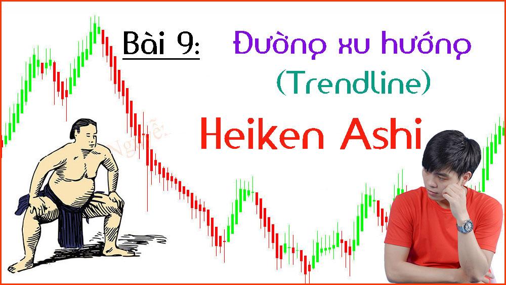 Photo of Cách xác định đường xu hướng trong biểu đồ Heiken Ashi (Bài 9)