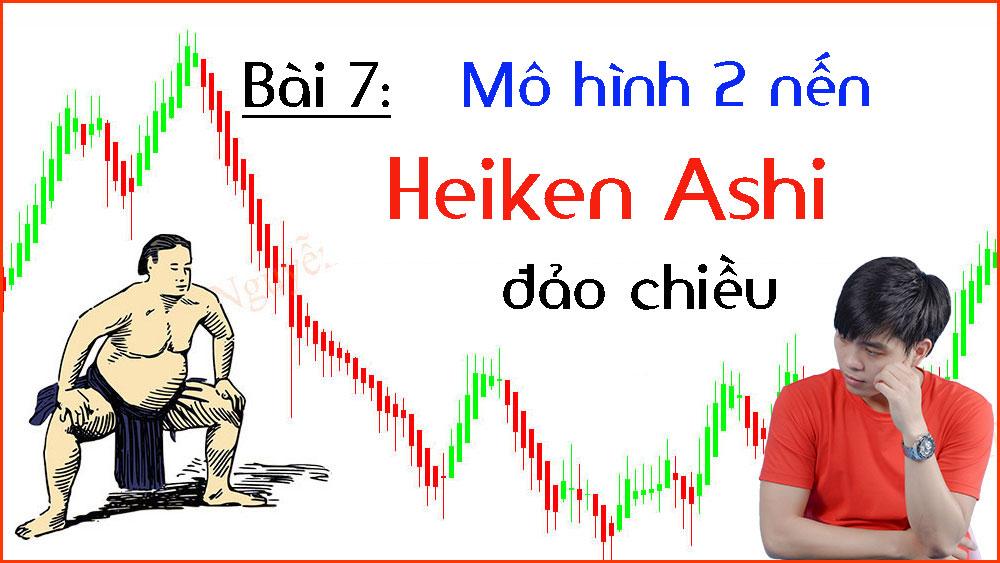 Photo of Mô hình 2 nến Heiken Ashi đảo chiều (Bài 7)