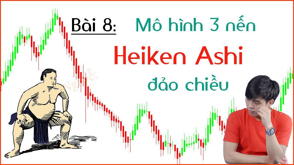 Photo of Mô hình 3 nến Heiken Ashi đảo chiều (Bài 8)