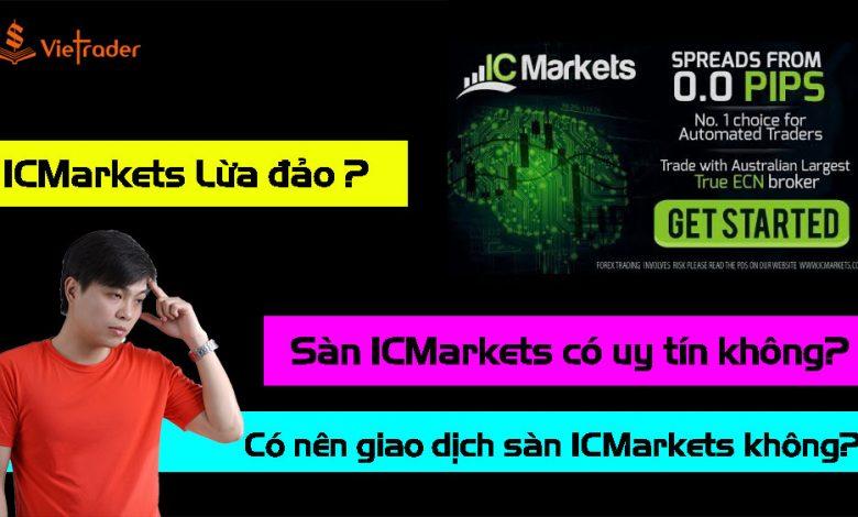 Photo of Sàn IC Markets lừa đảo? Sàn IC Markets có uy tín không? Có nên giao dịch sàn IC Markets?