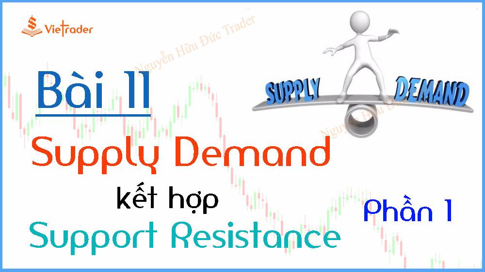 Photo of Phương pháp giao dịch cung cầu (Supply Demand) kết hợp hỗ trợ kháng cự (Support Resistance) – Phần 1 (Bài 11)