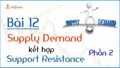 Photo of Phương pháp giao dịch cung cầu (Supply Demand) kết hợp hỗ trợ kháng cự (Support Resistance) – Phần 2 (Bài 12)