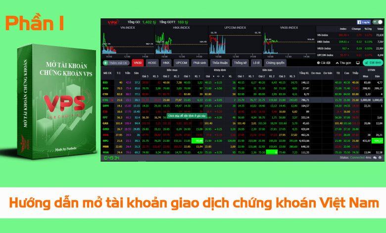Photo of Hướng dẫn mở tài khoản giao dịch chứng khoán Việt Nam cho người mới (Phần 1)