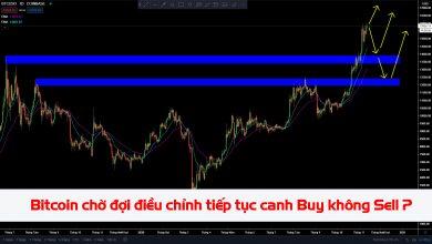 Photo of Bitcoin đã tăng quá mạnh, chờ đợi điều chỉnh tiếp tục chỉ canh Buy không Sell? 13/11/2020