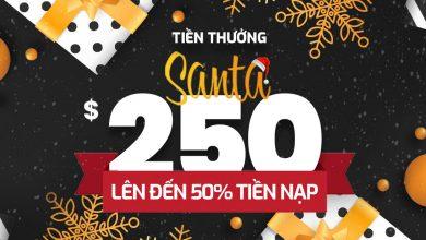 Photo of Tham gia chương trình Bonus Santa 250$ sàn AximTrade