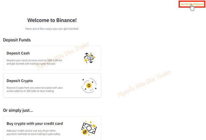 Welcome to Binance