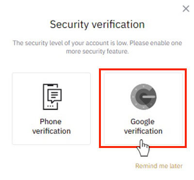 Xác minh Google Authentication