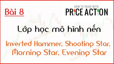 Photo of Price Action | Lớp học mô hình nến Price Action | Inverted Hammer, Shooting Star, Morning Star, Evening Star (Bài 8)