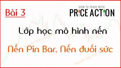 Photo of Price Action | Lớp học mô hình nến Price Action | Nến PinBar và Nến đuối sức (Bài 3)