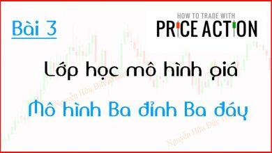 Photo of Price Action | Lớp học mô hình giá Price Action | Mô hình Ba đỉnh Ba đáy (Bài 3)