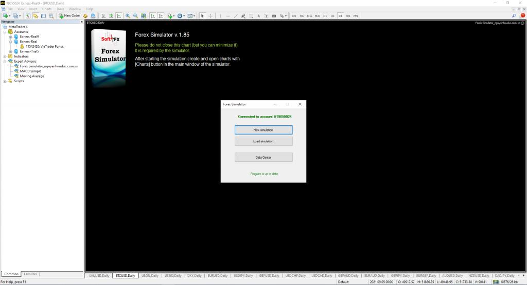 Forex Simulator 1.5